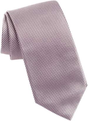 BOSS Geometric Silk Tie