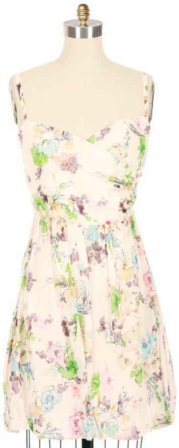 SJOBECK Floral Print Bubble Dress