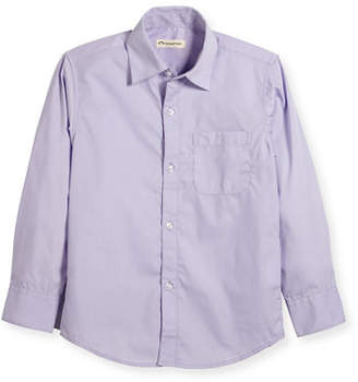 Appaman The Standard Poplin Shirt, Size 2T-14