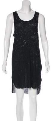 Ann Demeulemeester Cashmere-Blend Splatter Dress