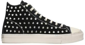 Gienchi J.michel Black Suede Sneakers