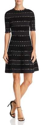 Ronny Kobo Jillian Grommet-Detail Dress