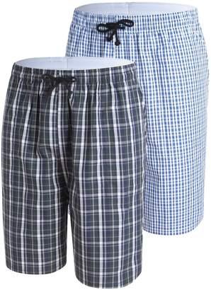 e1f47f29134 PAUL JONES Men's Sleep Shorts Lounge Sleepwear Lightweight Summer Shorts