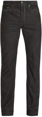 Massimo Alba Straight-leg cotton-corduroy trousers