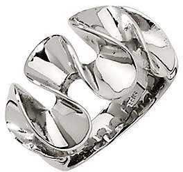 Steel by Design Stainless Steel Wavy Ring