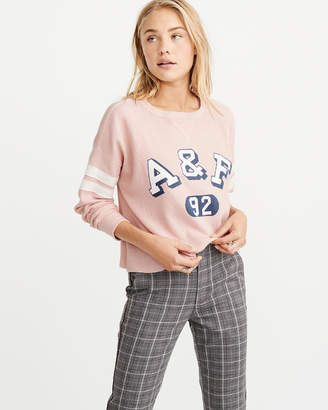 Abercrombie & Fitch Waffle Logo Tee