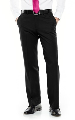 Van Heusen Big & Tall Ultimate Traveler Melange Straight Fit Flat Front Dress Pants
