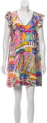 See by Chloe Printed Mini Shift Dress