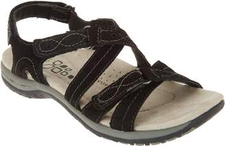 Earth Origins Leather Triple Adjust Sandals - Shane