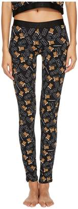 Moschino Jersey Stretch Bear Leggings Women's Casual Pants
