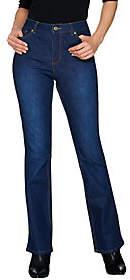 Isaac Mizrahi Live! Petite TRUE DENIM Boot CutJeans