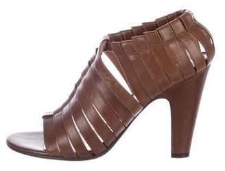 Maison Margiela Multistrap Leather Sandals
