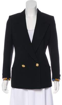 Gianni Versace Structured Peak-Lapel Blazer