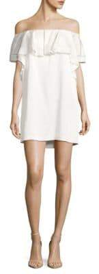 Rachel Zoe Madelyn Satin Back Crepe Dress