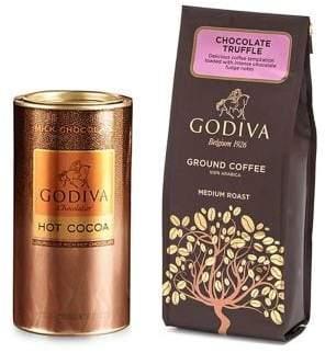 Godiva Chocolatier Chocolate Coffee and Cocoa Gift Set