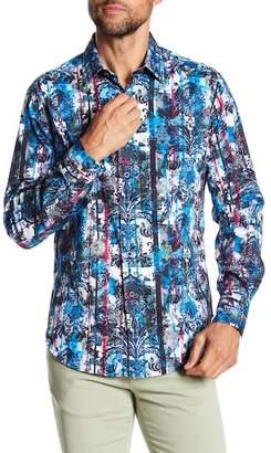 Robert Graham Drew Circle Classic Fit Woven Shirt
