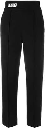 Fendi high waist cropped trousers