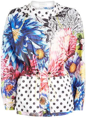 Mary Katrantzou Speckle Printed Coat