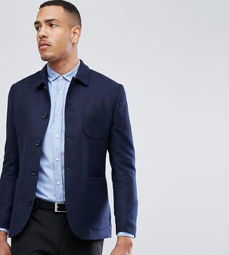 Heart & Dagger TALL Button Through Slim Worker Jacket
