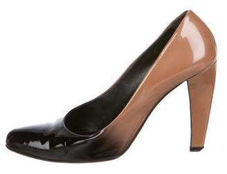 Prada Patent Leather High Heel Pumps