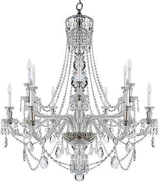 Ralph Lauren Home Daniela Two-Tier Wide Chandelier - Crystal