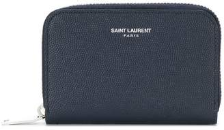 Saint Laurent classic zip around wallet