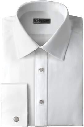 Ike Behar Traditional Fit 100% Woven Cotton Tuxedo Dress Shirt