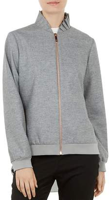 Ted Baker Pritara Layered-Look Bomber Jacket