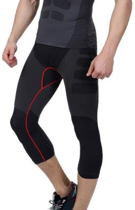 Acme Men's Cool Running Fitness Compression 3/4 Leggings Base Layer Tights