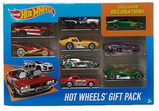Hot Wheels Mattel Inc. 9-Piece Gift Pack