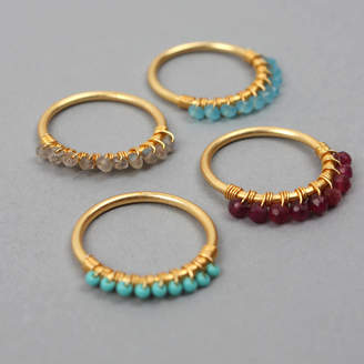 Bohemia Row Stacking Rings