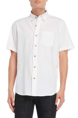 Tailor Vintage Seersucker Short Sleeve Shirt
