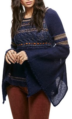 Women's Free People Craft Time Mixed Knit Sweater $128 thestylecure.com