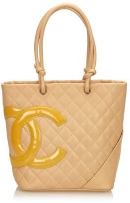 Chanel Vintage Cambon Ligne Bucket
