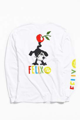 Urban Outfitters Felix The Cat Cherry Long Sleeve Tee