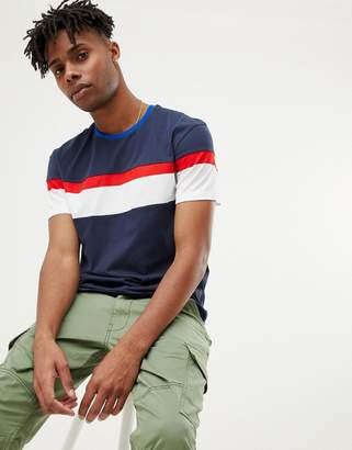 Jack and Jones Originals oversized t-shirt with body stripe