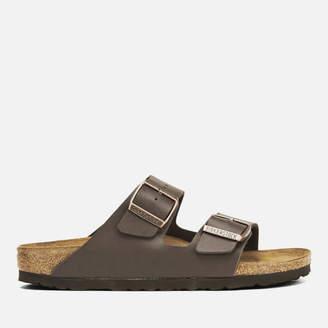67863d935fcc Birkenstock Women s Arizona Slim Fit Double Strap Sandals - Dark Brown