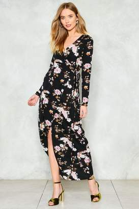 Nasty Gal Wrap Eyes on This Kimono Dress
