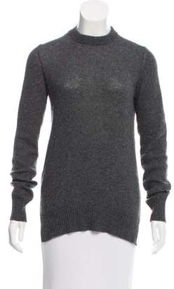 Prada Open Back Crew Neck Sweater