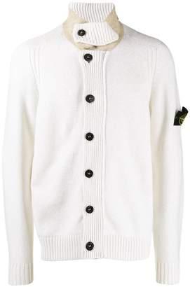 Stone Island button-down cardigan