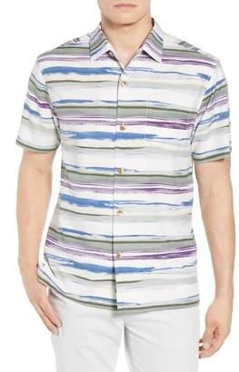 Tommy Bahama Hazy Horizons Silk Blend Camp Shirt