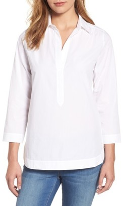 Women's Vineyard Vines High/low Popover Tunic $88 thestylecure.com