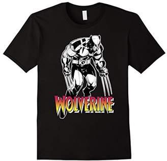 Marvel X-Men Wolverine Solo Shot Logo Stomp Graphic T-Shirt