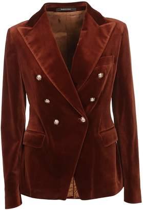 Tagliatore Double Breasted Pea Coat