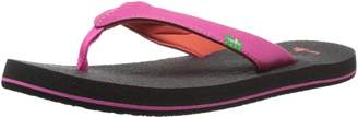 Sanuk Yoga Mat Girls Flip Flop (Little Kid/Big Kid)