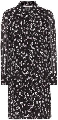 Tory Burch Avery floral-printed silk dress