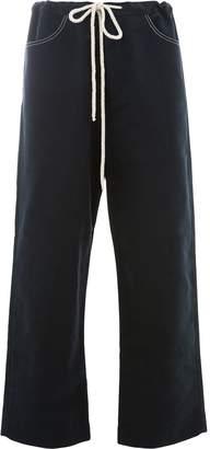 Sara Lanzi drawstring straight trousers