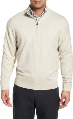 Cutter & Buck Lakemont Classic Fit Quarter Zip Sweater
