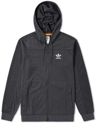 adidas Hooded Zip Track Jacket