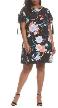 Adrianna Papell Zen Blosson Shift Dress